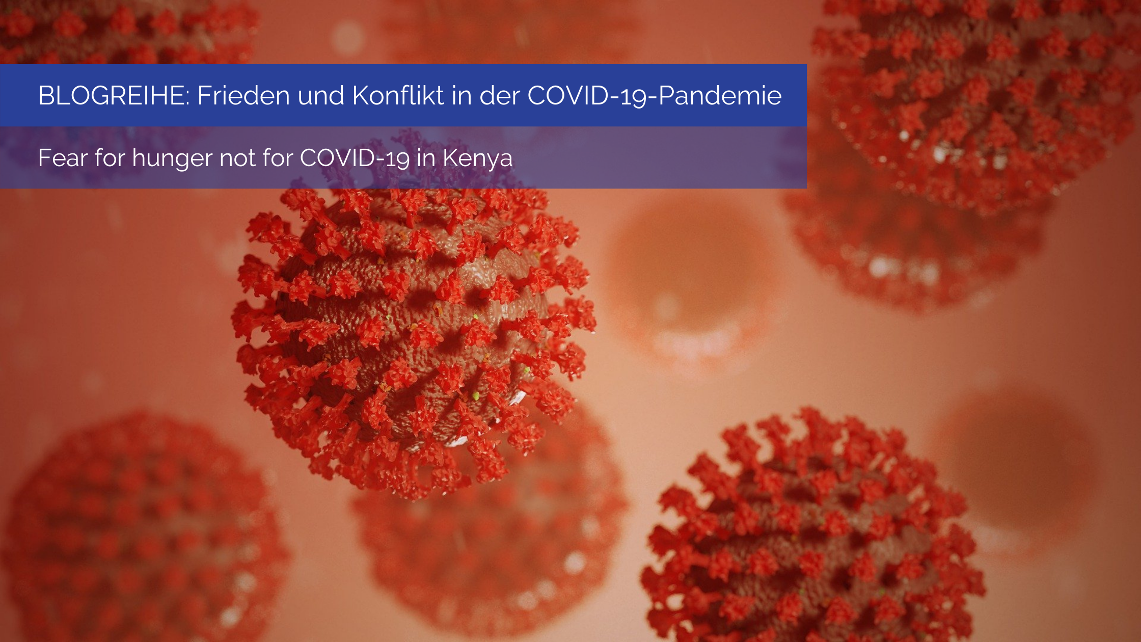 Fear for hunger not for COVID-19 in Kenya