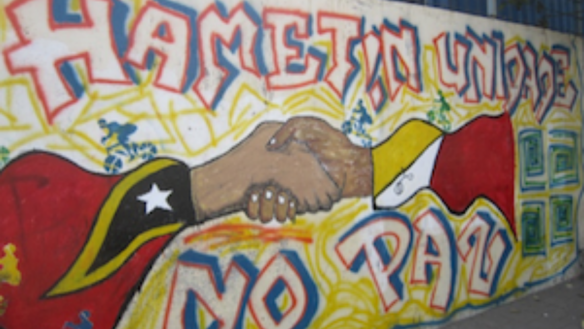 You are currently viewing Graffiti as Arts Activism in Peacebuilding
